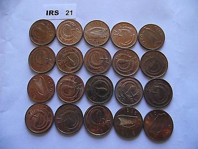 Ireland (Éire). 20 Coins@ Half Penny. Nice Condition (1971-1982)#Irs21