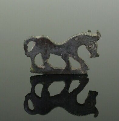 "Ancient Roman/Celtic Zoomorphic Brooch ""Horse"" - Circa 1St/2Nd Century Ad"
