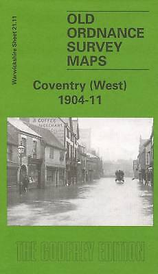 Old Ordnance Survey Map Coventry (West) 1904-1911