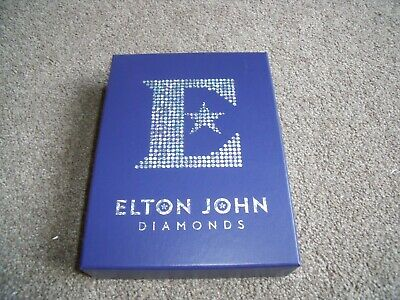 Elton John Diamonds Rare Deluxe 3 CD Box Set, Book & Cards.
