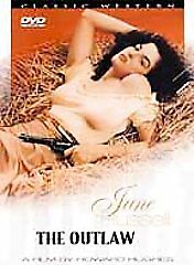 The Outlaw Dvd 1943 Movie Video Film Classic Western Jane Russell Walter Huston