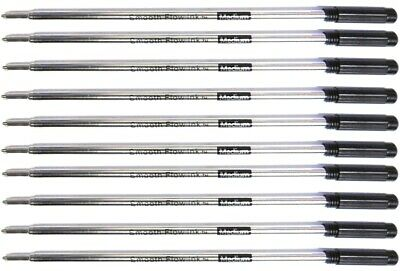 10 Cross Style Ballpoint Pen Refills, Smooth Flow Ink, Medium Point