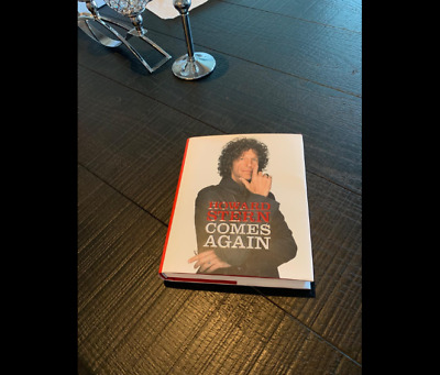 Howard Stern Comes Again Hardcover – May 14, 2019 Brand New