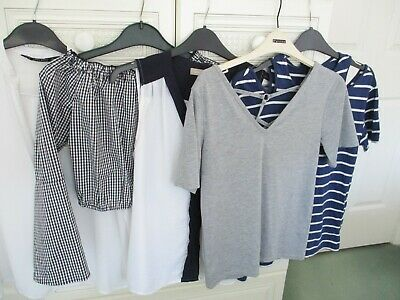 249290e1baff Bundle of 5 Ladies Summer Tops Size 6/8 Topshop Zara Missguided Banana  Republic