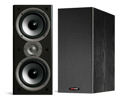 Polk Audio Monitor 40 Series II BLACK Bookshelf Speakers NEW PAIR