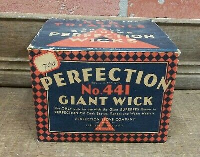 ranges and Water Heaters PERFECTION No 441 Giant Wick for oil cook stoves