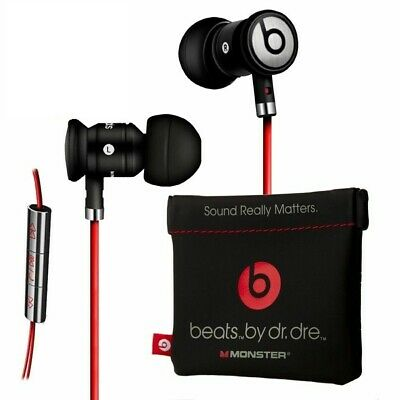 GENUINE OFFICIAL MONSTER BEATS By Dr. Dre UrBeats EARPHONES HEADPHONES HANDSFREE