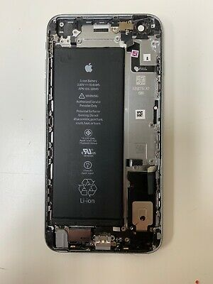 iPhone 6S PLUS Gray Original USED Battery Housing Back Cover Replacement Metal