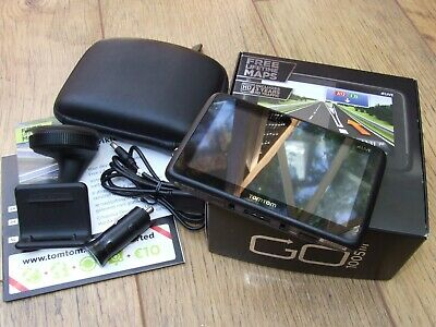 TOMTOM GO LIVE 1005 HDT&M - Europe GPS Receiver, Excellent Condition