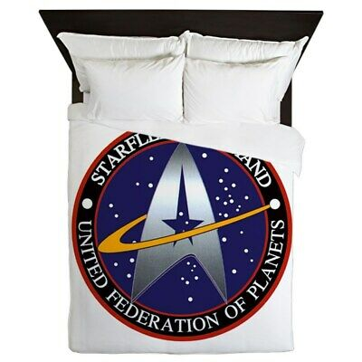 BUNDLE STAR TREK queen size bedding TNG new sealed Borg and