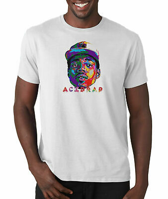 Chance The Rapper Acid Rap T Shirt Hip Hop Chicago Rap 3 Tee Rain Coloring Book