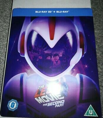 The Lego Movie 2 - Limited Edition Steelbook Blu-Ray & 3D Movie (Second Part)