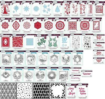 CREATIVE EXPRESSIONS - SUE WILSON DIES, STAMPS - FESTIVE 2019 Choice of