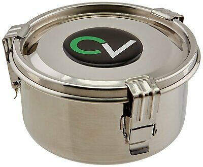 *Genuine* CVault Airtight Storage Container Humidity Controlled 4 Ltr S/Steel
