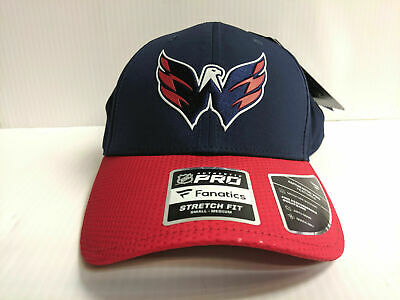 cheap for discount d14a0 ce8df Washington Capitals Cap 2019 Official NHL Draft Stretch Flex Fit Fitted Hat