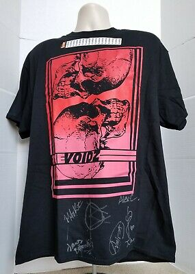 The Voidz REAL hand SIGNED X-Large T-Shirt COA Autographed Julian Casablancas +5
