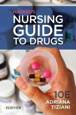 NEW Harvard's Nursing Guide to Drugs 10th Edition By tiziani Paperback