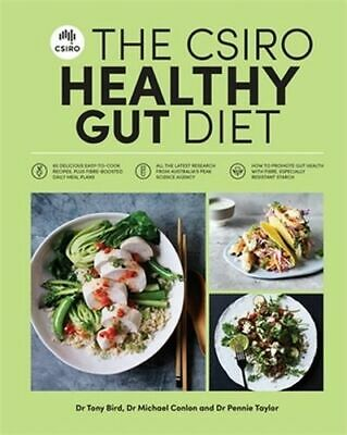 NEW The CSIRO Healthy Gut Diet By Pennie Taylor Paperback Free Shipping
