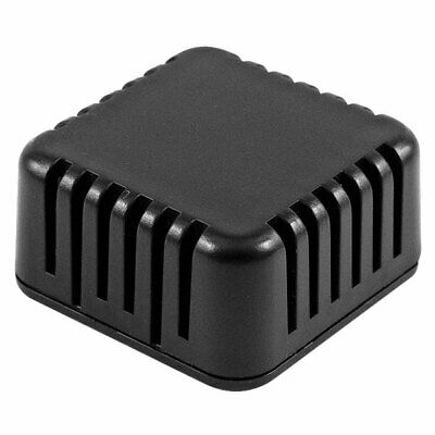 Hammond 1551V1BK Miniature Plastic Enclosure Vented 40x40x20mm Black