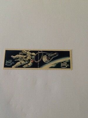 1967 Space Accomplishments Stamps 5c US-1331-32 MINT N/H Nice Stamps Space Nice