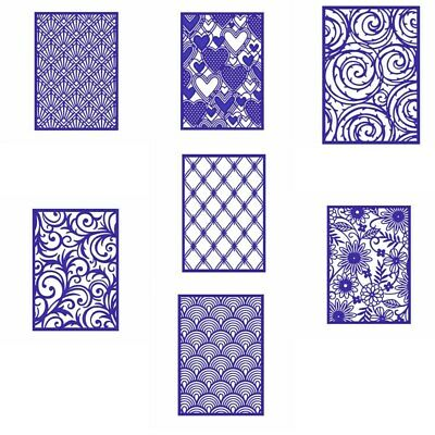 Rectangle Swirls Frame Cutting Dies Stencil Scrapbooking Crafts Embossing Card