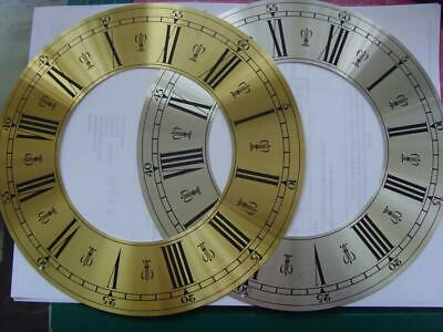 REF 22/2 :cjsd#8  New hermle Replacement alloy chapter ring  clock dial 218mm od