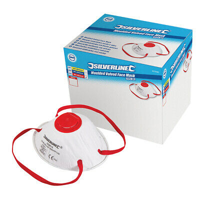 Respirator Moulded Valved FFP3 Display Box 10pk FFP3 Safety and Workwear Tool