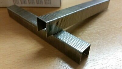 Omer 80 Series 14mm Stainless Steel fine wire Staples. Upholstery Staples