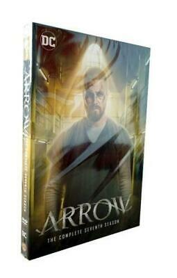 Arrow Season 7 Seven The Complete Seventh DVD Set New Sealed Free Shipping