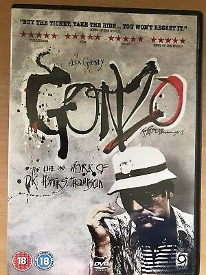 Gonzo - The Life And Work Of Dr.HUNTER S.THOMPSON ~2009 Documentario UK DVD
