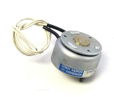 New Shindengen 430187.883 Rotary Solenoid (5 Available)