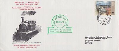 STAMPS STEAM RAILWAY SOUVENIR / FIRST DAY COVER FROM RARE COLLECTION No 007