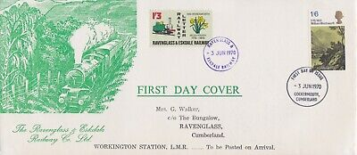 STAMPS STEAM RAILWAY SOUVENIR / FIRST DAY COVER FROM RARE COLLECTION No 010