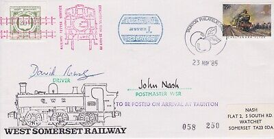 STAMPS STEAM RAILWAY SOUVENIR / FIRST DAY COVER FROM RARE COLLECTION No 046