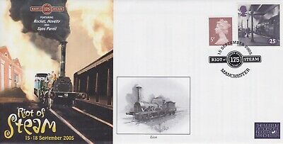 STAMPS STEAM RAILWAY SOUVENIR / FIRST DAY COVER FROM RARE COLLECTION No 048