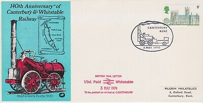 STAMPS STEAM RAILWAY SOUVENIR / FIRST DAY COVER FROM RARE COLLECTION No 062