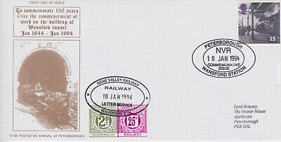 STAMPS STEAM RAILWAY SOUVENIR / FIRST DAY COVER FROM RARE COLLECTION No 069