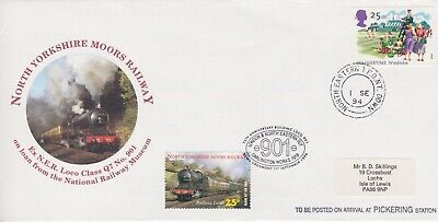 STAMPS STEAM RAILWAY SOUVENIR / FIRST DAY COVER FROM RARE COLLECTION No 074