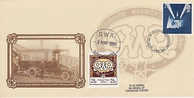 STAMPS STEAM RAILWAY SOUVENIR / FIRST DAY COVER FROM RARE COLLECTION No 085