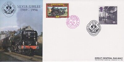 STAMPS STEAM RAILWAY SOUVENIR / FIRST DAY COVER FROM RARE COLLECTION No 088