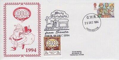 STAMPS STEAM RAILWAY SOUVENIR / FIRST DAY COVER FROM RARE COLLECTION No 089