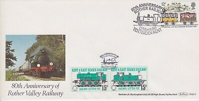 STAMPS STEAM RAILWAY SOUVENIR / FIRST DAY COVER FROM RARE COLLECTION No 099