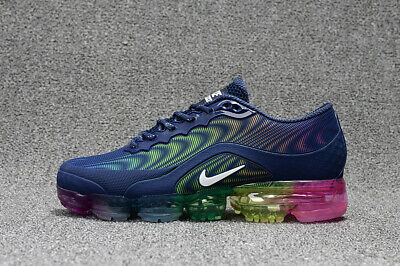 NIKE VaporMax Air Max 2018 men's running shoes Blue and color