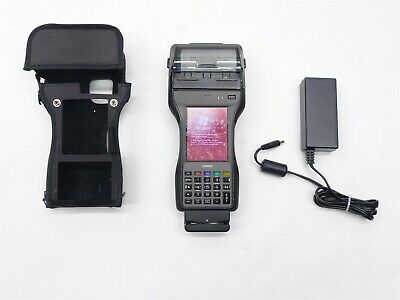 CASIO IT9000E-MC25E HANDHELD PRINTER BARCODE SCANNER WiFi NFC READER TERMINAL