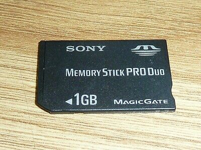 1GB SONY MEMORY STICK PRO DUO CARD for SONY PLAYSTATION PSP MS 1 GB MagicGate