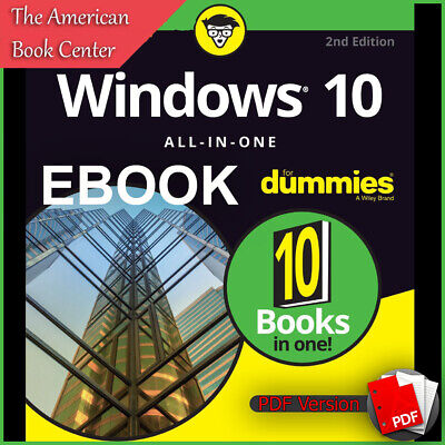 Windows 10 All-in-One for Dummies 10 in 1 by Woody Leonhard (ebook_pdf)