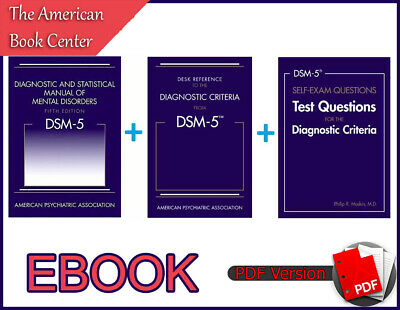 DSM-5 Diagnostic and Statistical Manual of Mental Disorders 5th Edition +2 (PDF)