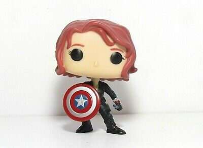 Black Widow With Shield 103 Funko Pop Gamestop Exclusive Avengers Age Of Ultron