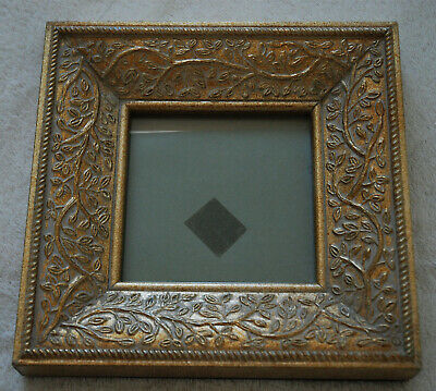 Gold Ornate Picture Photo Frame Antique Vintage Shabby Chic Effect Stands/Hangs