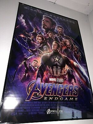 Avengers: Endgame Theatrical US Poster DS 27x40 Mint Brand New Never Used (READ)